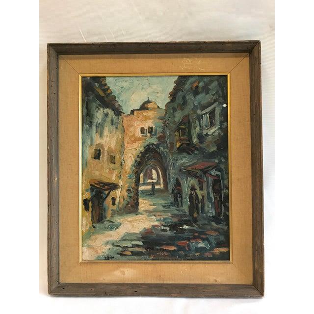 Mid-Century Moroccan Street Scene - Image 2 of 8