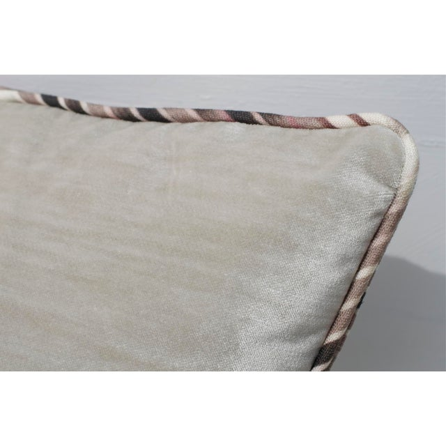 Ikat Pillows in Christopher Farr Cloth - A Pair - Image 5 of 7