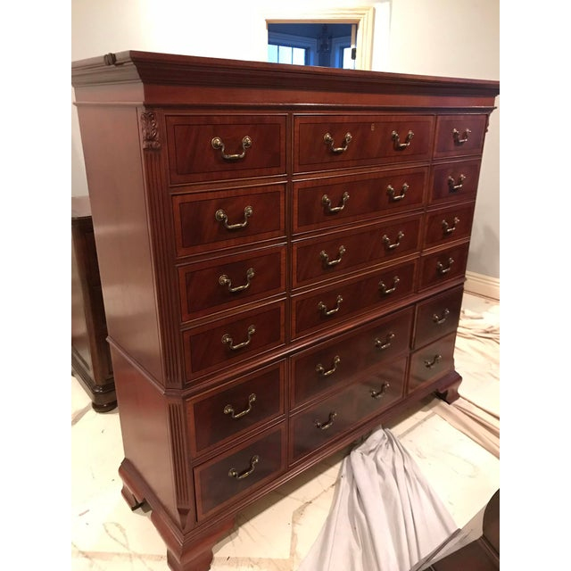 Ethan Allen 18-Drawer Chest - Image 8 of 9
