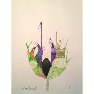 """Paisley Park"" Original Watercolor Painting"