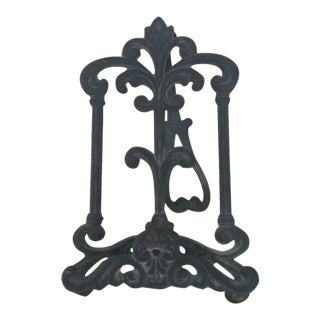 Rococo Style Easel Plate Stand