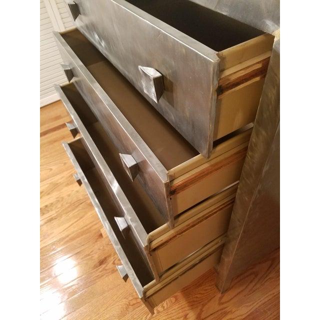 Norman Bel Geddes Metal Dresser - Image 3 of 7