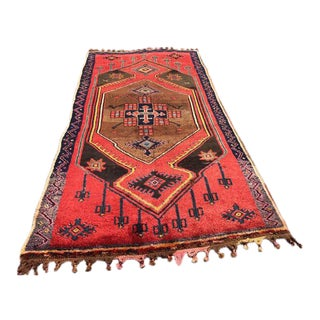 Vintage Turkish Rug - 5′6″ × 11′6″