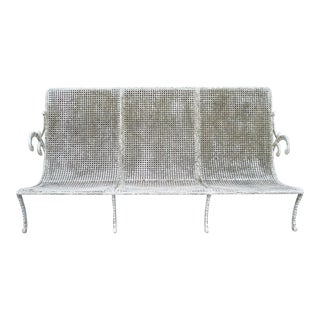 Unusual and Stylish Early 20th Century Garden Bench