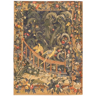 "Pasargad Tapestry Wool Area Rug - 4'10"" X 6' 8"""