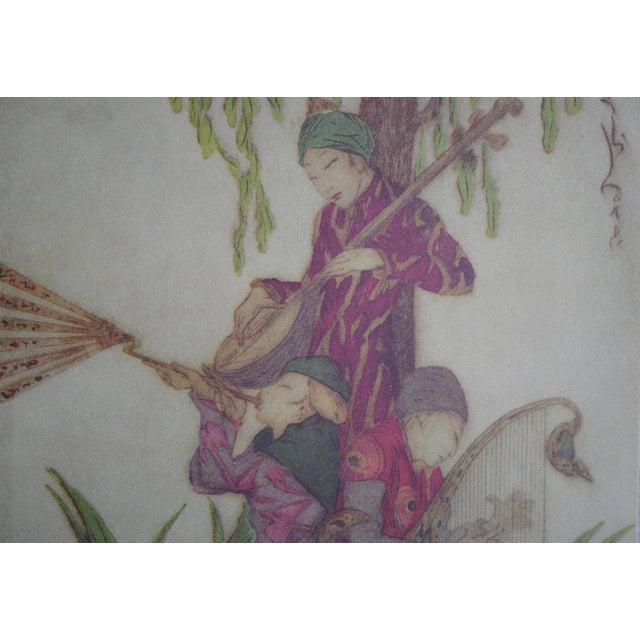 Vintage Asian Prints - Set of 2 - Image 5 of 10