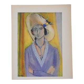 Vintage Matisse Lithograph