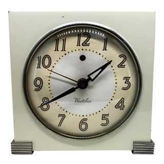 1940s Westclox Deco Mantle Clock