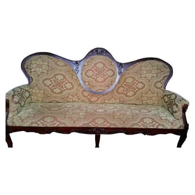 Image of Vintage Asian Sofa