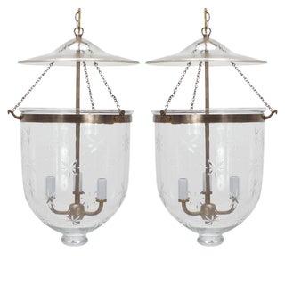 Pair of Classic Smoke Bell Lanterns