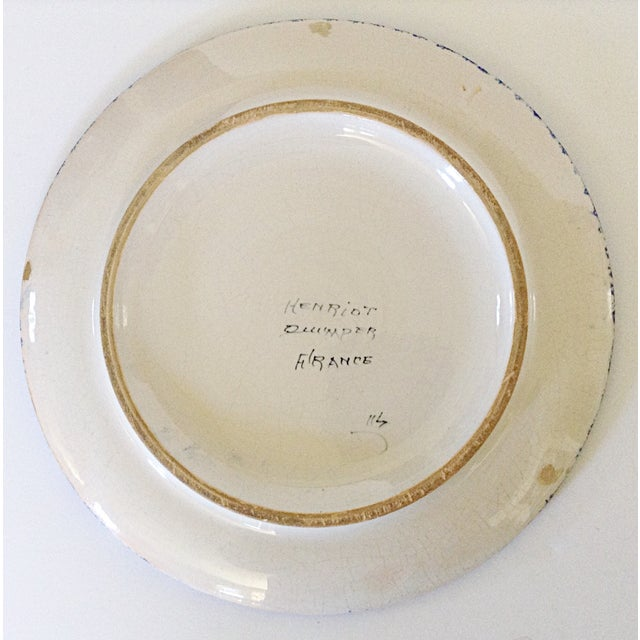 Quimper Serving Plate - Image 3 of 4