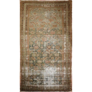 """Distressed Antique Malayer Rug - 5'2"""" X 9'7"""""""
