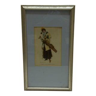Circa 1905 Aren't You Coming Along James Flagg Print