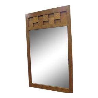 Paul Evans by Lane Mid-Century Brutalist Mirror