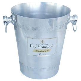 Vintage French 'Dry Monopole Champagne' Ice Bucket