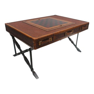 Maitland Smith X- Base Game Coffee Table