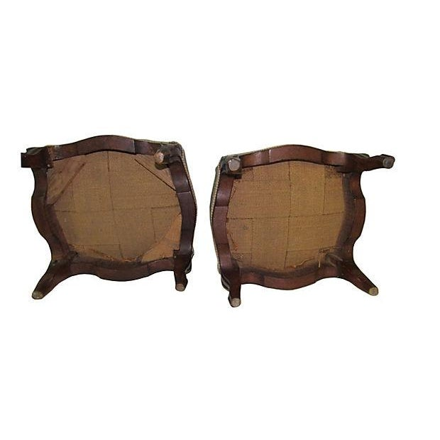 Image of Antique French Tabourets/Footstools - Pair