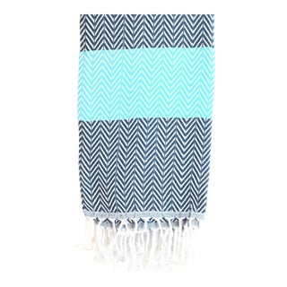 Arrow, Turquoise Turkish Towel