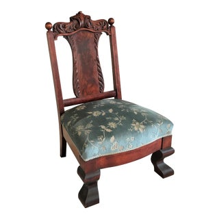 French Empire Low Chair