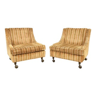 Mid-Century Modern Lounge Chairs- A Pair