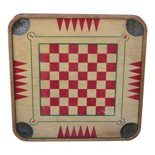 Vintage Carrom Game Board