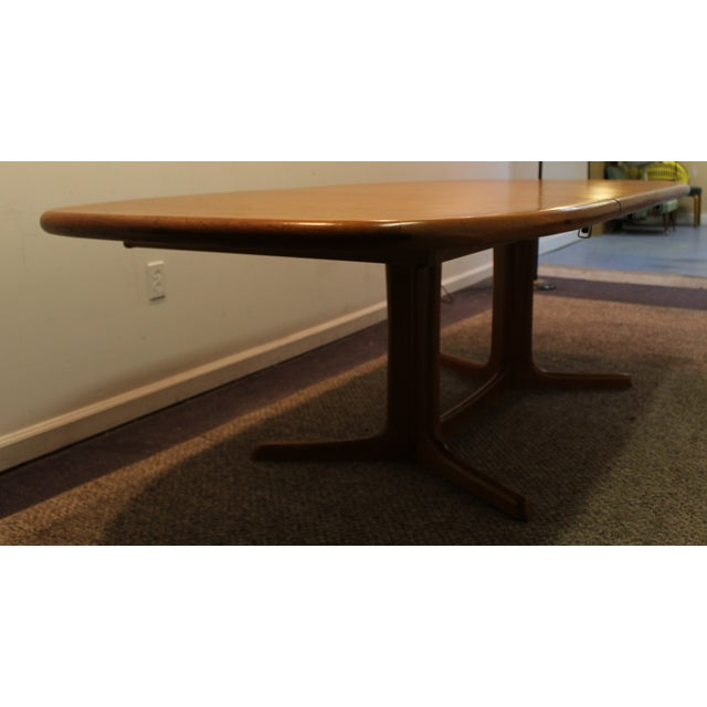 Image of Danish Modern Mobelfabrik Teak Dining Table