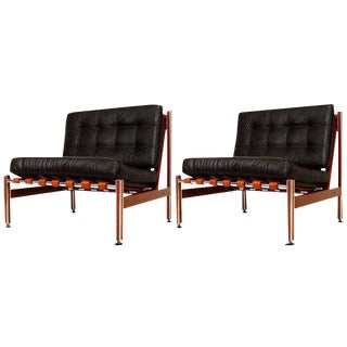 Pair of Mexican Modernist Lounge Chairs