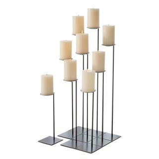 Cantilever Pillar Candle Holders - 9