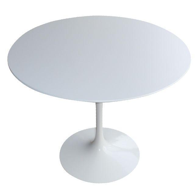 Knoll Saarinen White Tulip Table - Image 1 of 4