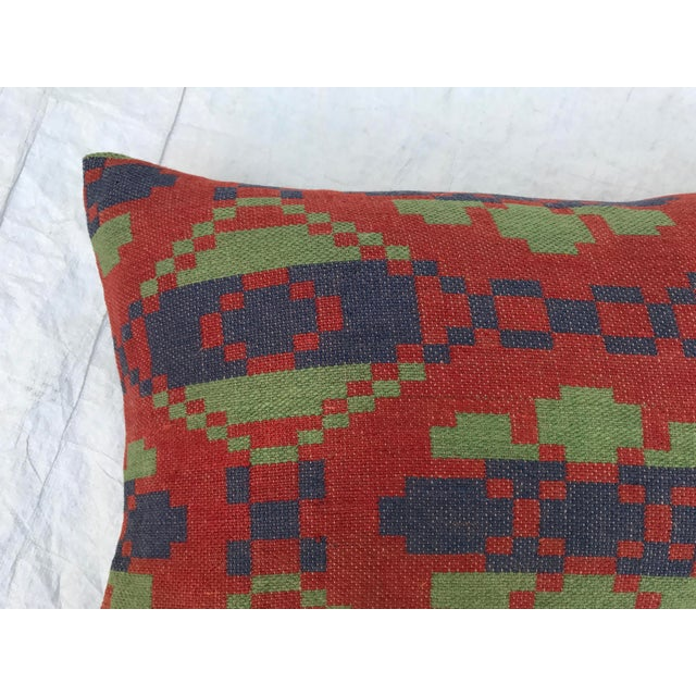 Southwestern Style Wool Blanket Pillow Chairish