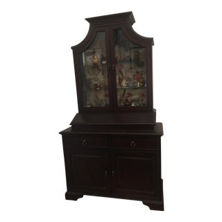 Mitchell Gold +Bob Williams Breakfront Display Cabinet