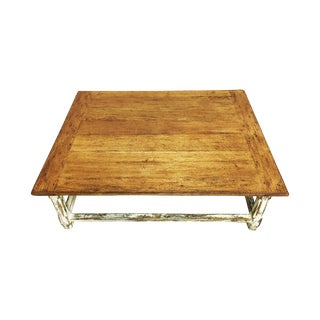 Rustic Farmhouse French Coffee Table