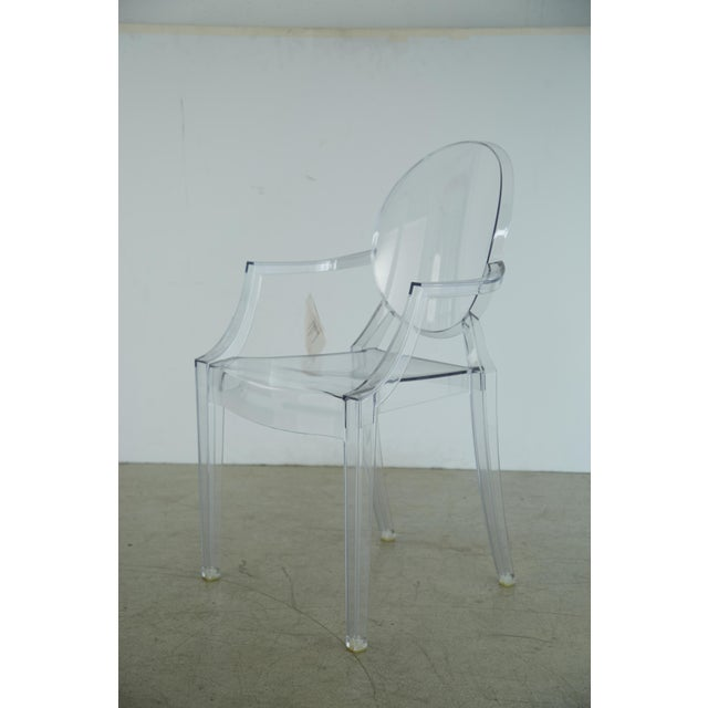Louis XVI Ghost Chairs by Philippe Starck for Kartell, Unused With Original Tags, Four (4) Available - Image 3 of 9