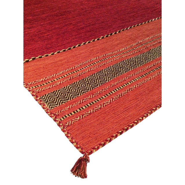 "Pasargad Rustic Kilim Collection Rug- 5' 2""x7' 6"" - Image 3 of 3"