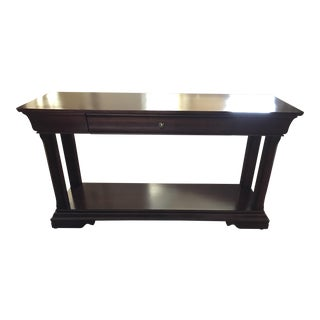 Thomasville Wood Sofa Table