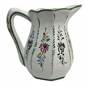 Portuguese Majolica Milk Pitcher