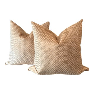 "22"" Scalamandre' Pillows - A Pair"