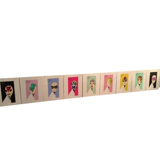 "Prada ""Head Concepts"" Museum Prints - Set of 9"