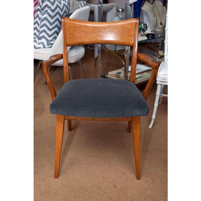 Set of Six Heywood-Wakefield Dining Chairs - Image 3 of 10