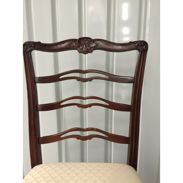 Antique Dining Room Chairs - Set of 5 - Image 5 of 7