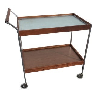 Mid-Century Salton Warming Bar Cart