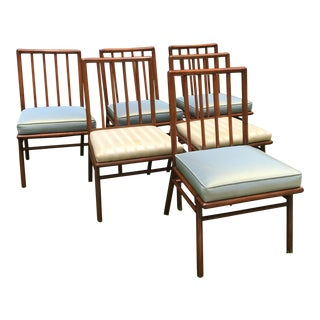 T. H. Robsjohn Gibbings for Widdicomb Dining Chairs - Set of 6