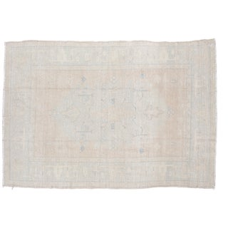 "Vintage Oushak Carpet - 5'10"" x 8'5"""