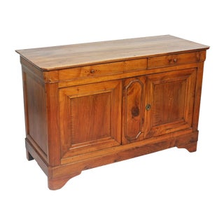 French Louis Philippe Buffett in Fruitwood