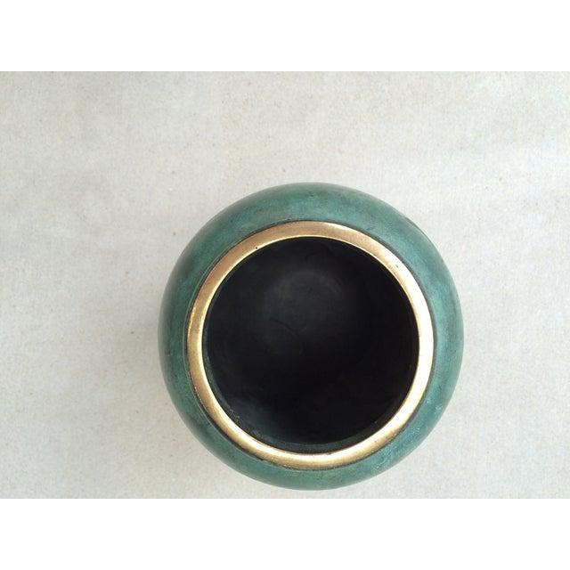 Image of Vintage Bronze Vase