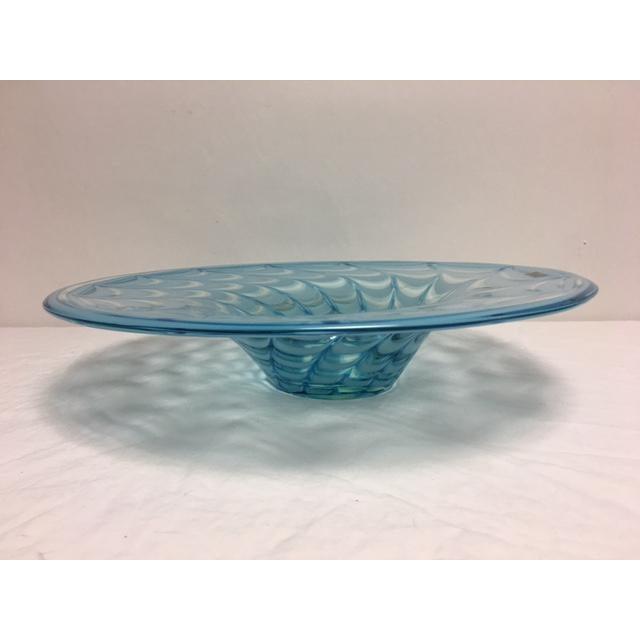 Waterford Evolution Aqua Art Glass Bowl - Image 6 of 8