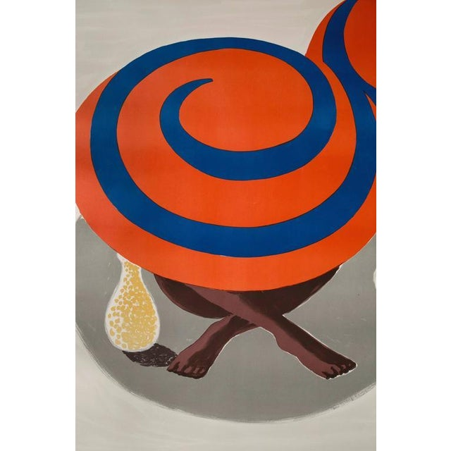Vintage Orangina Advertisement Poster by Bernard Villemot - Image 5 of 8