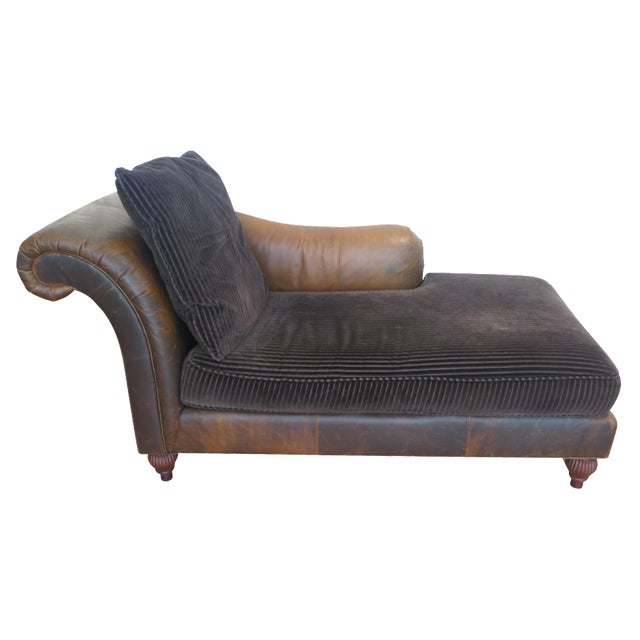 Baker Milling Road Chaise Lounge Chairish