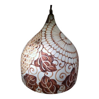 Ballard Designs Julia Fiberglass Pendant Lamp