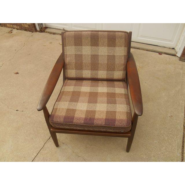 Image of Mid-Century Danish Modern Lounge Chair